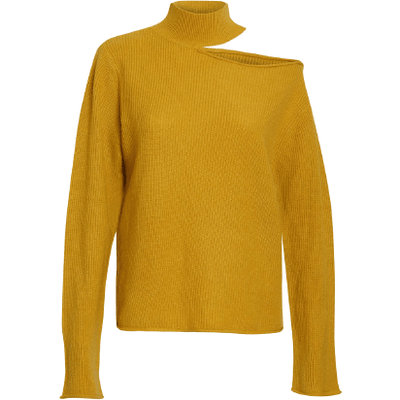 LANGLEY CUTOUT SWEATER - Shop Marcus