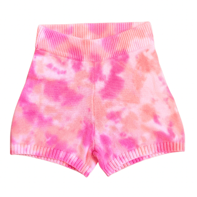 Juicy Couture SWEATPANT SHORTS LAVENDER LIPSTICK SWEAT SHORTS