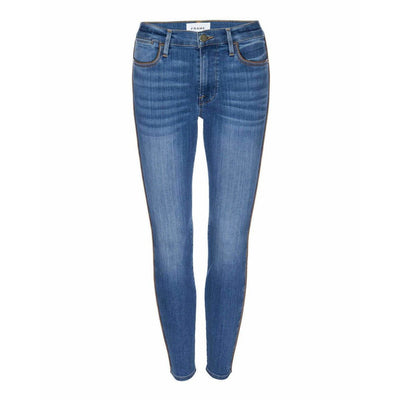 FRAME DENIM LE HIGH SKINNY W/ PIPING - FRAME