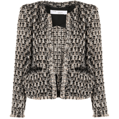 IRO BLAZER LONE TWEED JACKET