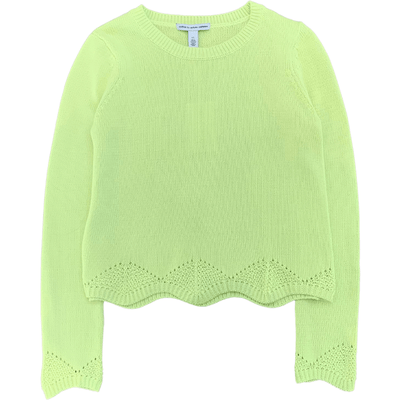 AUTUMN CASHMERE SWEATER LOOSE GG CREW SULPHUR