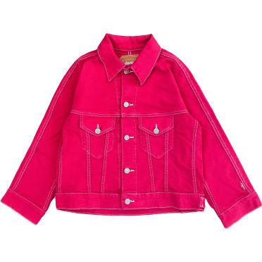 MOORE TRUCKER JACKET - PINK