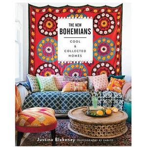 ABRAMS BOOKS DECOR BOOK NEW BOHEMIANS: COOL AND COLLECTED HOMES