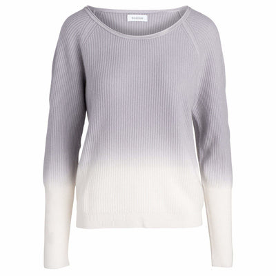 NAADAM SWEATER OMBRE RIBBED BOATNECK SWEATER