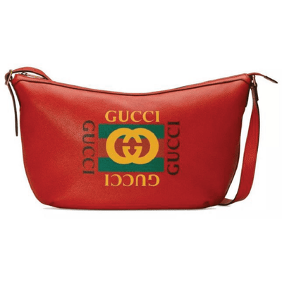Gucci LX LIVE RED HOBO CROSSBODY