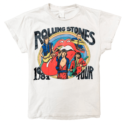 MADEWORN TEE ROLLING STONES TATTOO YOU TOUR '81