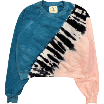ELECTRIC AND ROSE SWEATSHIRT RONAN PULLOVER CREST - ELECTRIC & ROSE