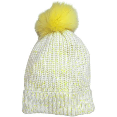 SHAKER HAT WITH POM POM