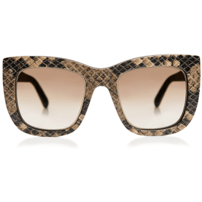 STELLA MCCARTNEY SNAKE PRINT NOVELTY SUNGLASSES