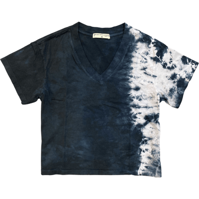 ELECTRIC AND ROSE TEES STRATA VNECK TEE-SHORE - ELECTRIC & ROSE
