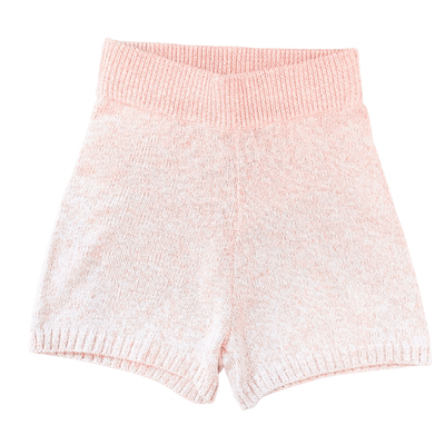 Juicy Couture SWEATPANT SHORTS MARLED ROSE / XS SWEAT SHORTS