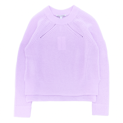 AUTUMN CASHMERE SWEATER THERMAL MOTOR CROSS CREW LILAC