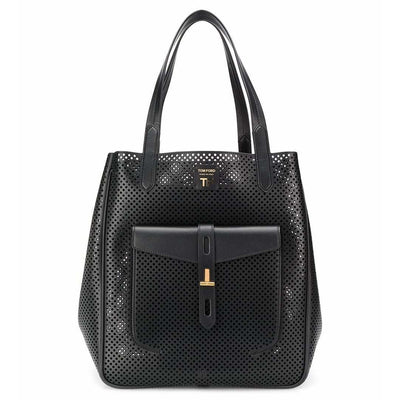 TOM FORD LX LIVE TOM FORD PERFORATED T TWISE TOTE