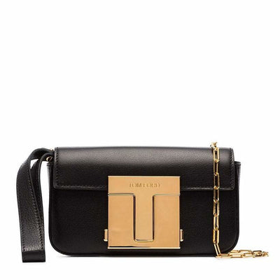 TOM FORD LX LIVE TOM FORD T CLASP SHOULDER BAG