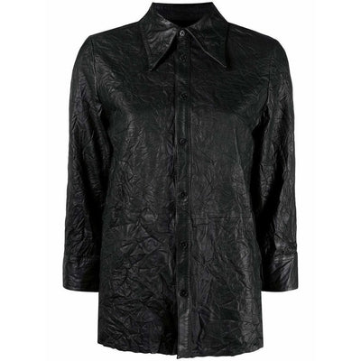TRIS CUIR LEATHER SHIRT - ZADIG & VOLTAIRE