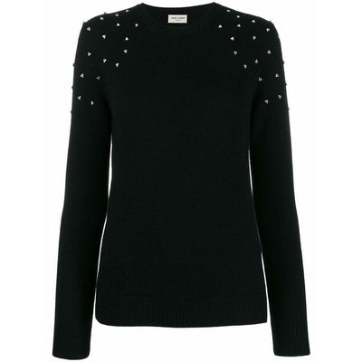 YSL Crystal Shoulder Sweater