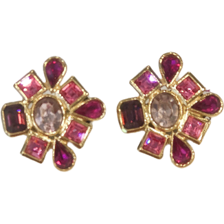 YSL Vintage Earrings - Shop Marcus