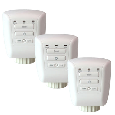 Smart Radiator Valve Triple Pack