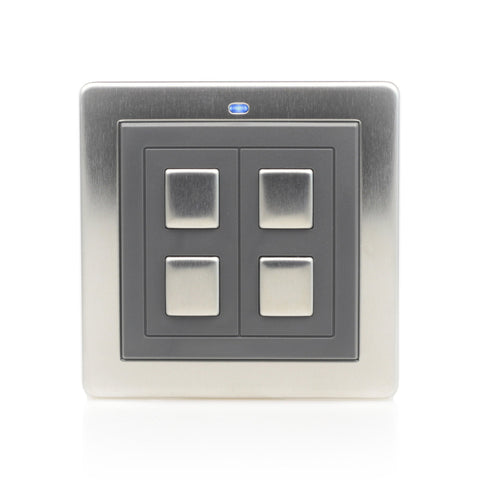 LW221 LightwaveRF Wire-free switch (2 gang)