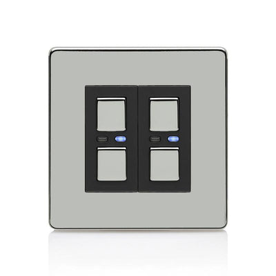 2-Way Dimmer (2 gang)