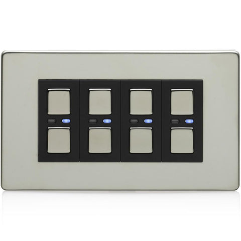 Smart Dimmer (4 gang) (200 series non-LED)