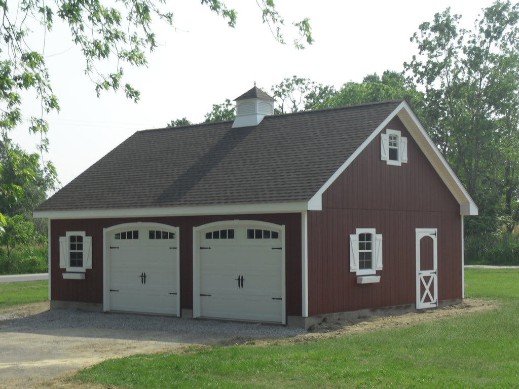 Prefab Garages MA | Attic Truss Series – New England Outdoor