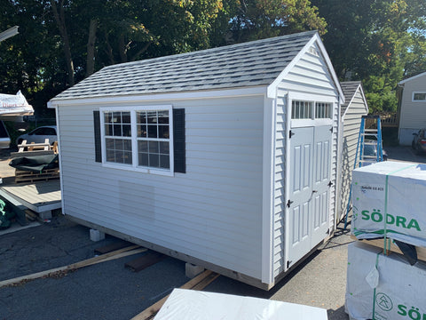 8x16 Aspen Shed with Vinyl Siding