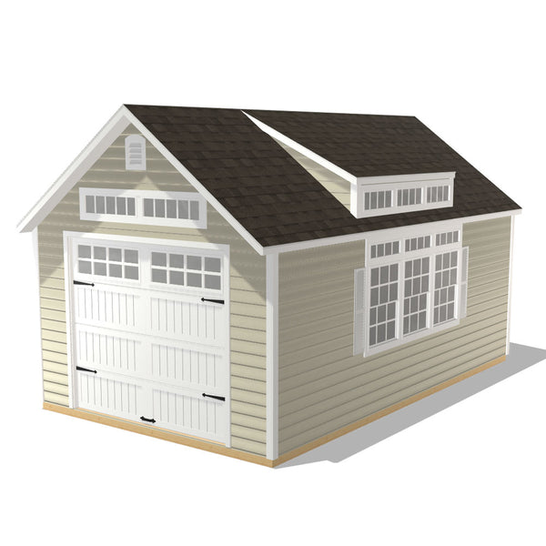 Grand Delmar - 12x20 Dormer with Vinyl Clapboard