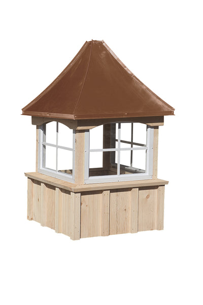Pine Window Cupolas