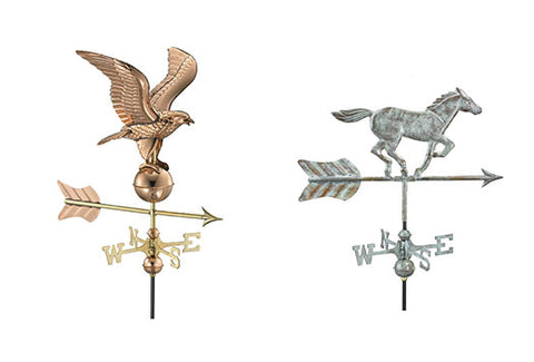 Copper Cottage Weathervanes