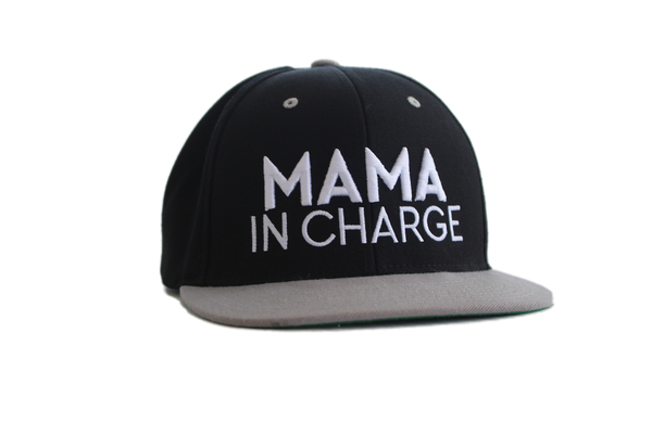 Cotton Tail Clothing - Cotton Tail Clothing, Snapback Hat kids clothes, Mama in Charge Snapback shirt