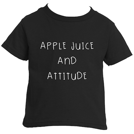 Cotton Tail Clothing - Cotton Tail Clothing, Toddler T-Shirt kids clothes, Toddler Apple Juice & Attitude T-Shirt shirt