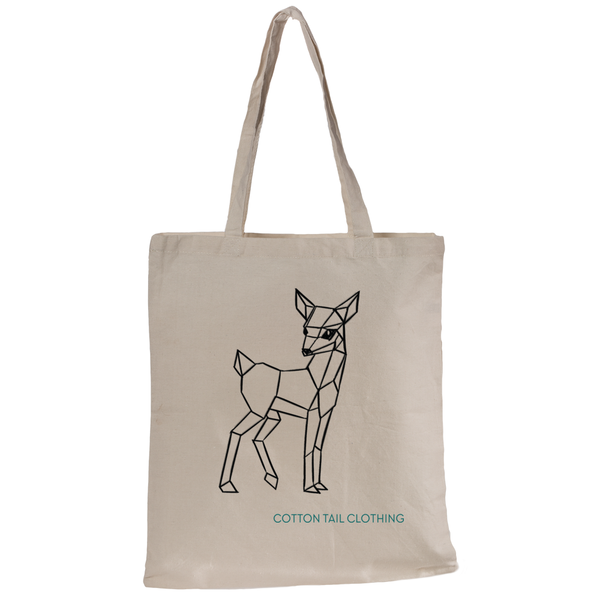 Cotton Tail Clothing - Cotton Tail Clothing, Canvas Tote kids clothes, Fawn Tote shirt
