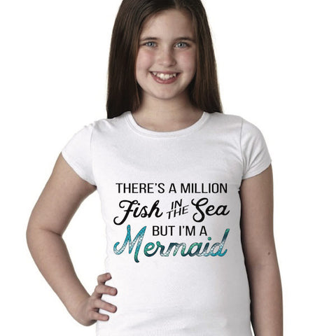 Youth Mermaid Princess Tee
