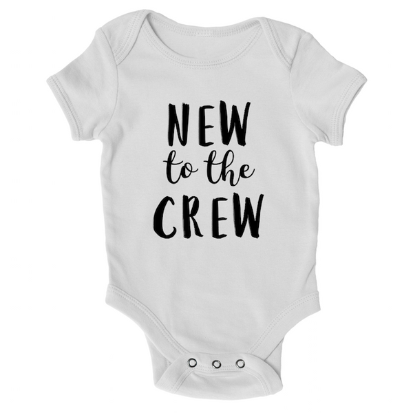 Cotton Tail Clothing - Cotton Tail Clothing, Infant Onesie kids clothes, Infant New to the Crew Onesie shirt