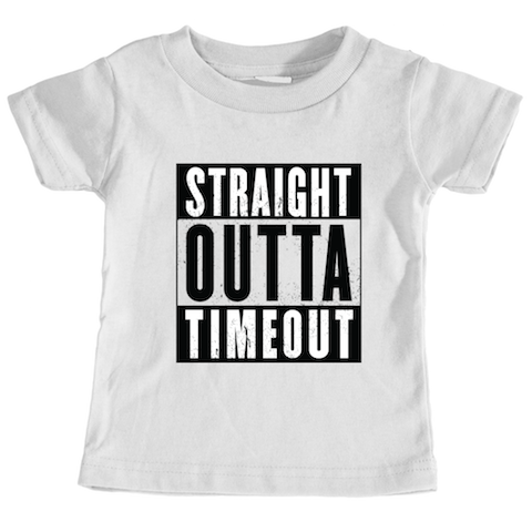 Cotton Tail Clothing - Cotton Tail Clothing, Toddler T-Shirt kids clothes, Toddler Outta Timeout Tee shirt