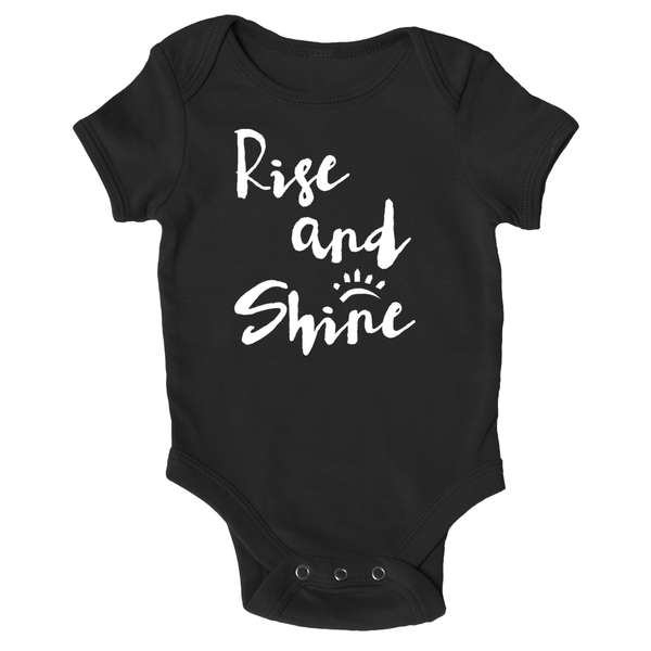 Cotton Tail Clothing - Cotton Tail Clothing, Infant Onesie kids clothes, Infant Rise & Shine Onesie shirt