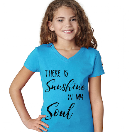 Cotton Tail Clothing - Cotton Tail Clothing, Youth V-Neck kids clothes, Youth Sunshine V-Neck Tee shirt