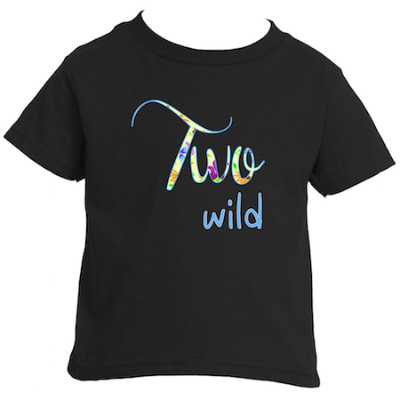 Cotton Tail Clothing - Cotton Tail Clothing, Toddler T-Shirt kids clothes, Girl's Two Wild T-Shirt shirt