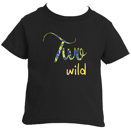 Cotton Tail Clothing - Cotton Tail Clothing, Toddler T-Shirt kids clothes, Boy's Two Wild T-Shirt shirt