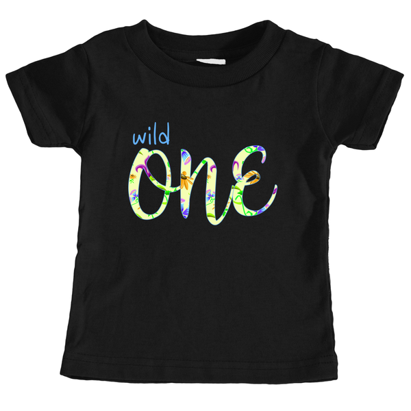 Cotton Tail Clothing - Cotton Tail Clothing, Infant T-Shirt kids clothes, Girl's Wild One T-Shirt shirt