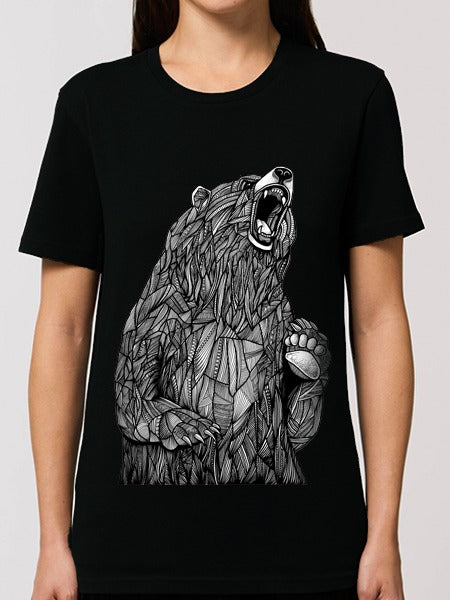 Grizzly Bear Tee Black