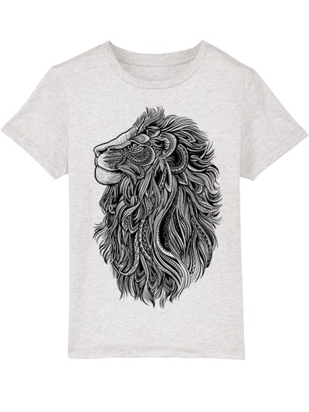 Lion Cream Heather Grey