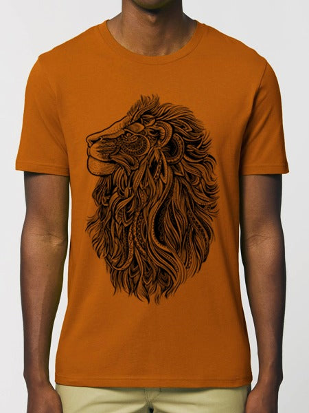 Lion Tee Roasted Orange