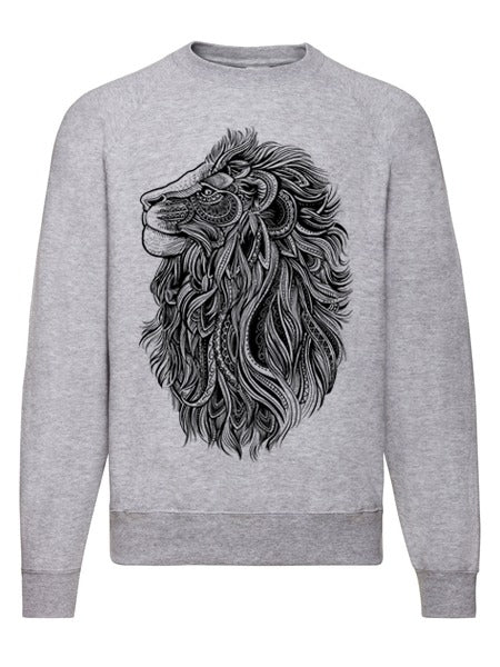 Lion Sweatshirt Heather Grey