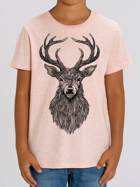 Stag Cream Heather Pink