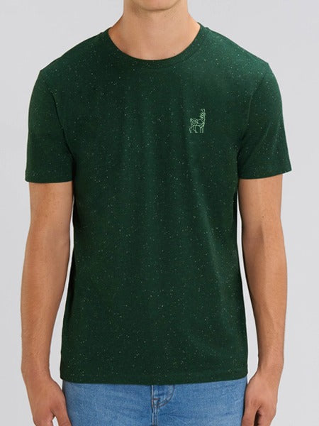 Woodland Stag Embroidered Tee