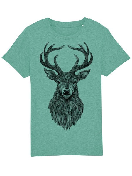 Stag Mid Heather Green