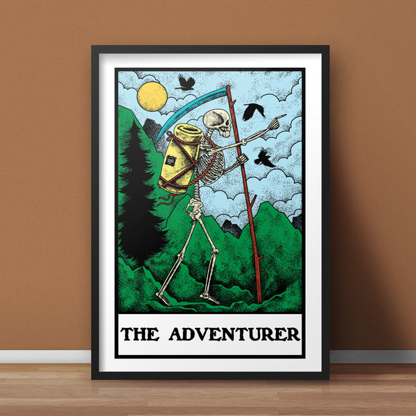 The Adventurer A3 Print - Supreme Elements  - 1