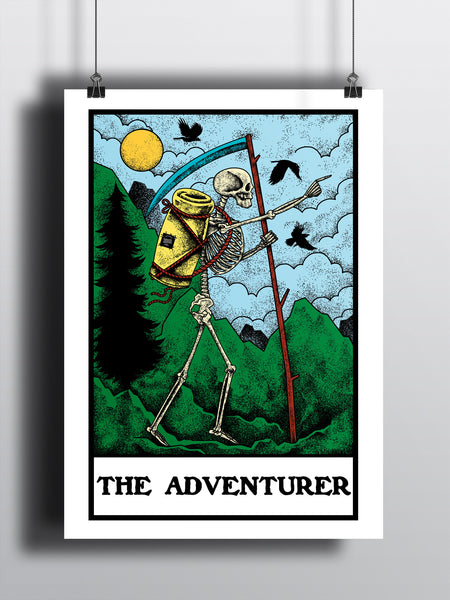 The Adventurer A3 Print - Supreme Elements  - 2